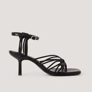NA-KD Strappy kitten heels